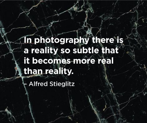"""In photography there is a reality so subtle that it becomes more real than reality."" Alfred Stieglitz bit.ly/crowd_books"
