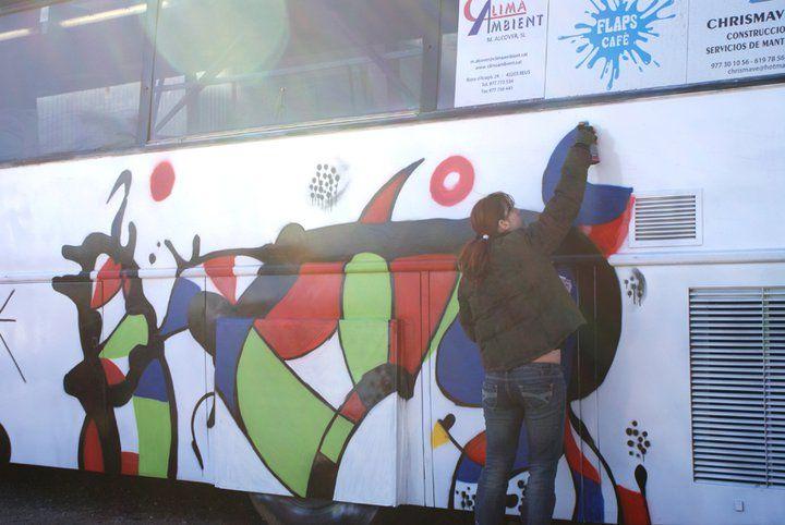 Carroza Carnaval 2 – Miró y Dalí