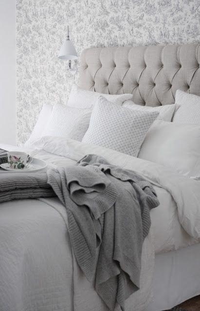 Beautiful white bedding