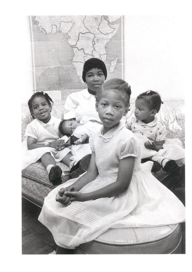 Betty Shabazz and her children
