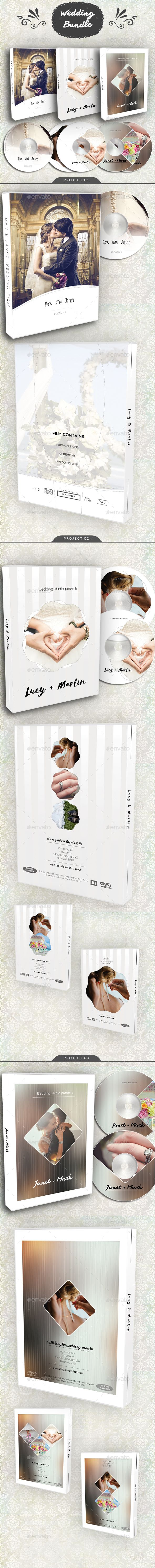 Wedding DVD / BluRay Cover Bundle 3 — Photoshop PSD #cd #cover • Available here ➝ https://graphicriver.net/item/wedding-dvd-bluray-cover-bundle-3/20946702?ref=pxcr