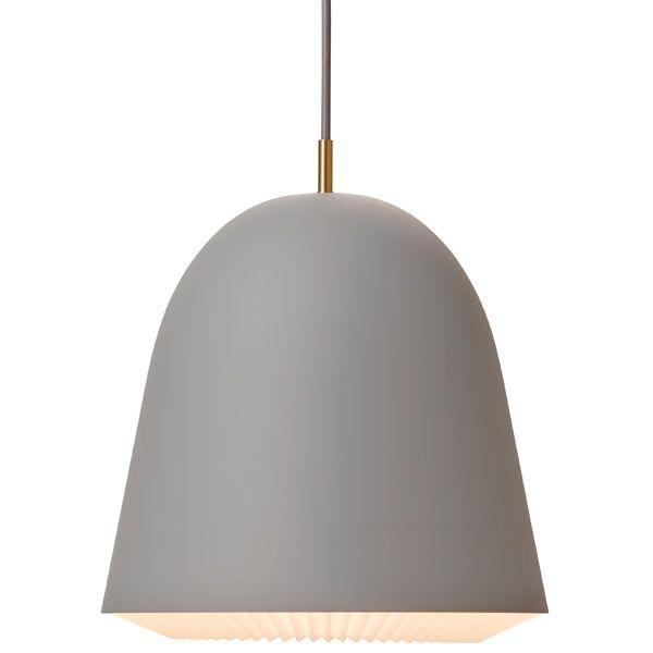 Caché pendant grey, large, by Le Klint.