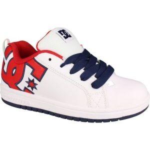 Tenisi DC Shoes Copii la preturi Bune. In concluzie, niste adidasi sau tenisi DC Shoes reprezinta certificatul de membru :) cu ajutorul caruia, cel mic este acceptat tacit in gasca haioasa si zburdalnica a skateboarderilor ;) si baietilor tari.