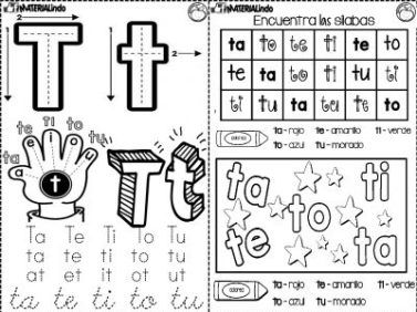 Material de LECTOESCRITURA para alumnos con dificultades