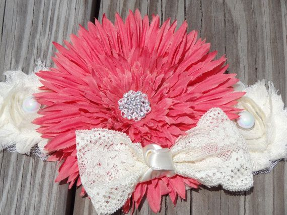 Dusty Rose and Ivory Maternity Sash for by RibbonLaceBoutique, $25.00