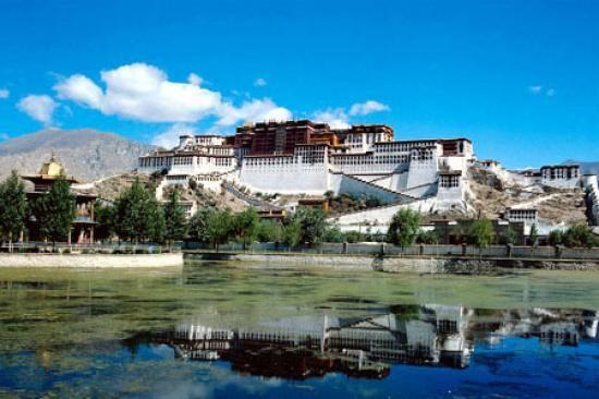 Lhassa, capitale du Tibet.