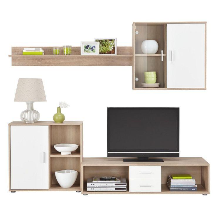 39 best Wohnzimmer  Co images on Pinterest Living room, Home - wohnzimmer in weiss braun