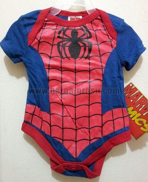 Jumper karakter kostum Spiderman Rp.35,000 www.harga