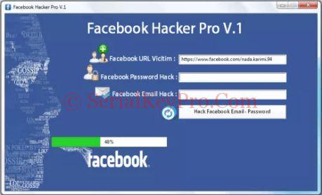Facebook Hacker Pro 2.8.9 Crack Free Download