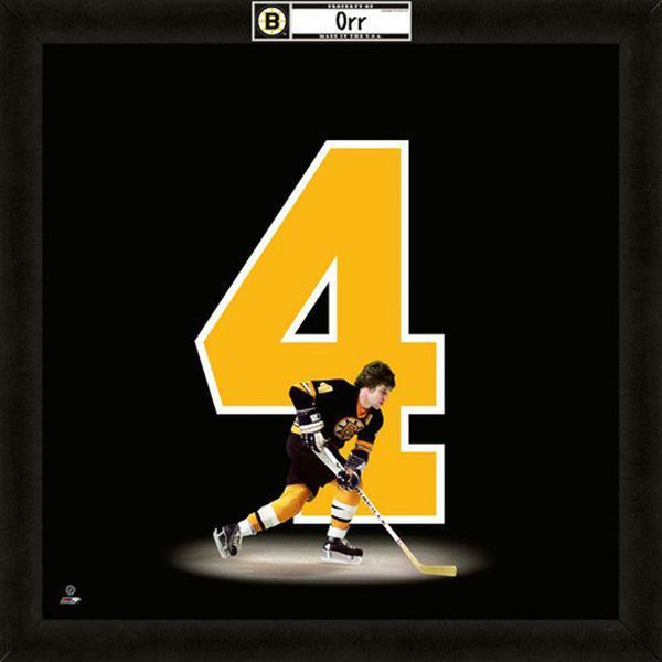 Bobby Orr Boston Bruins #4 Players Uniframe - $74.99