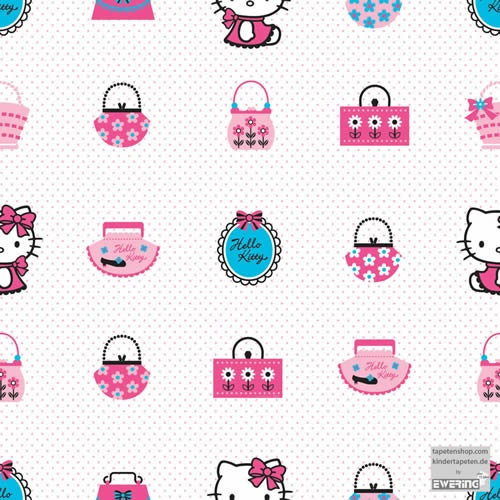 Kindertapeten Hello Kitty : Hello Kitty Fashion