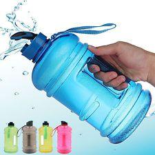 2.2L BPA Gratis Gimnasio Deporte Viaje Beber Botella Tapa Hervidor Jarra de agua de hidratación Correa