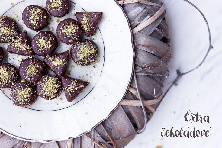 Kokos, kakao, pistácie - vánoční kolečka