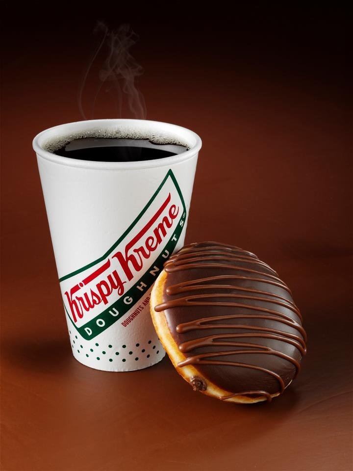 A cup of Krispy Kreme Coffee is the perfect complement to our doughnuts.