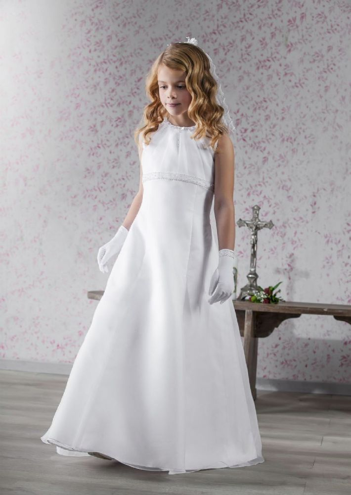 Elegant First Communion Dress - New 2015 - Emmerling Communion Dress 70150 - First Communion Dresses got Girls - Communion Dress Shop Ascot Berkshire