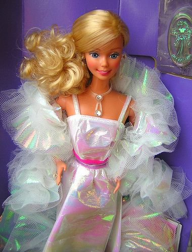 Crystal Barbie...probably one of the most glamorous barbies in my collection