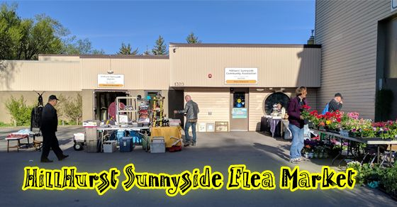 Ever been to the HillHurst Sunnyside Flea Market? You should check it out!