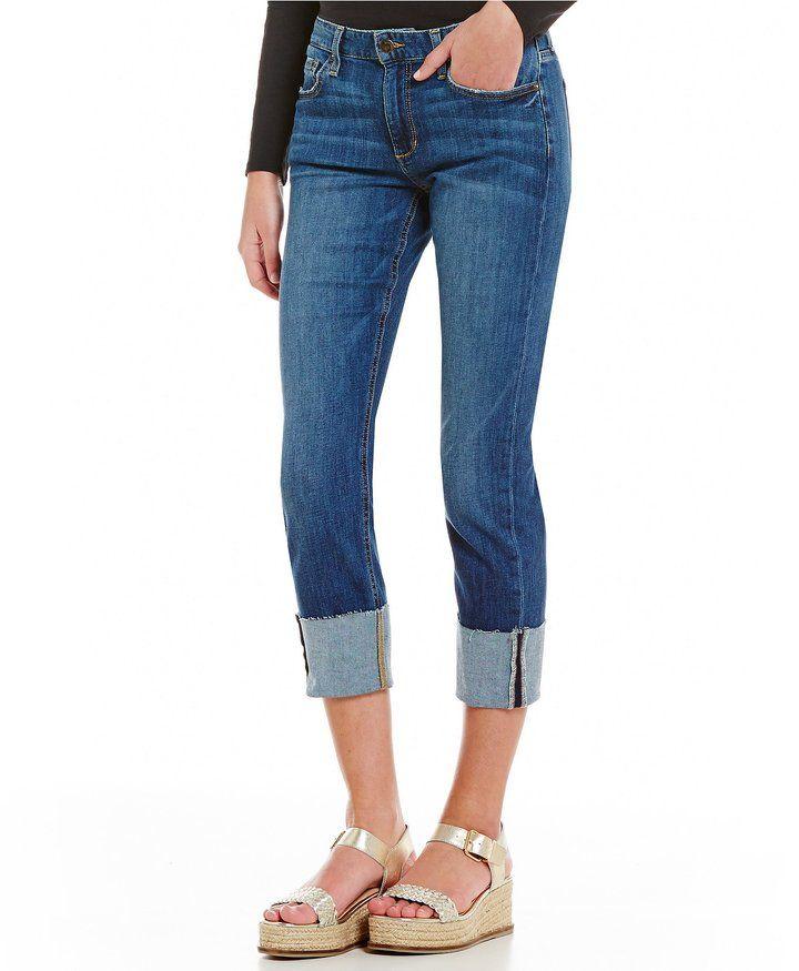 Joe's Jeans Joe s Jeans Smith Mid Rise Cuffed Skinny Jeans