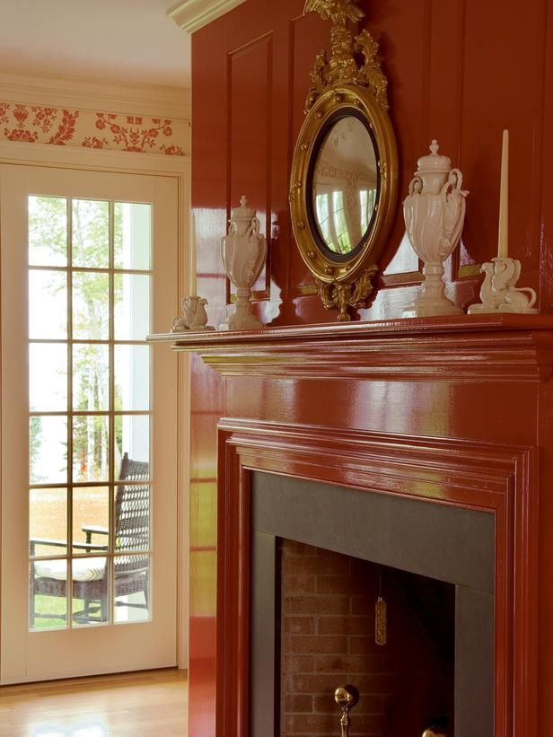 Farrow And Ball: The Art Of Color/ High Gloss Mantel.