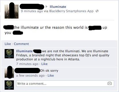 When this guy TOOK DOWN the Illuminati: | 26 Time Old People Were The Best People On The Internet In 2015