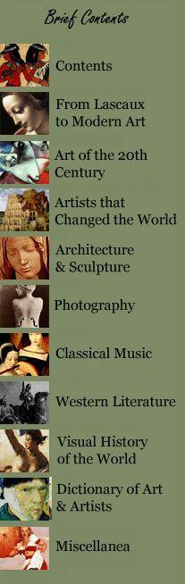 Art History Web Site - good notes   all-art.com
