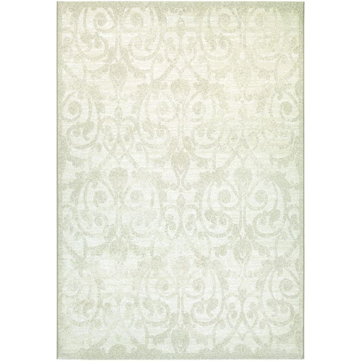 COURISTAN INC Power-Loomed Sundance Provence Champagne Ultra-Fine Polypropylene Rug