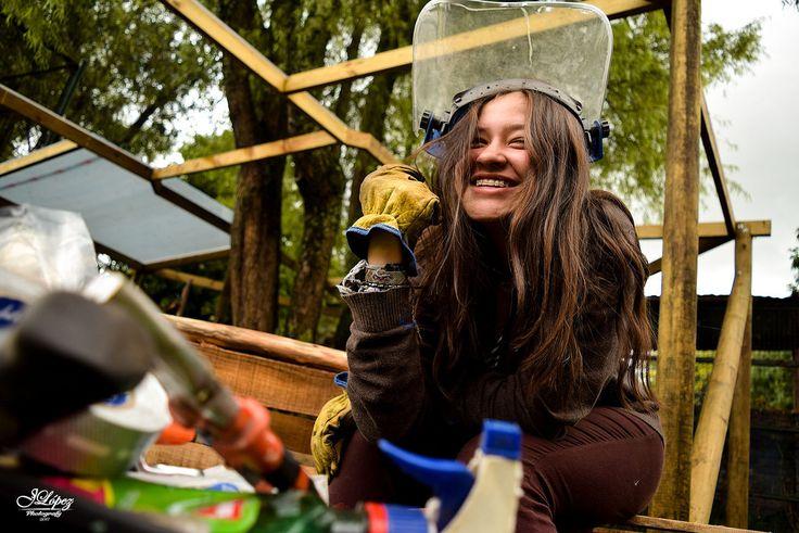 Nuestros jóvenes están haciendo el cambio para tener espacios más verdes que nos permita recrear, descansar y respirar mucho mejor.   #AtrapaSueños,  #PoniéndoleElAlma