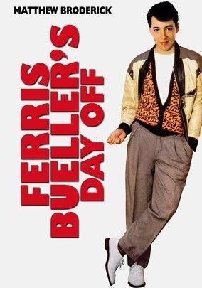 """Ferris Bueller's Day Off (1986) -- AHHH! One of my fav's :) """"Bueller.... Bueller..... Bueller..."""" Haha! For sure a classic"""
