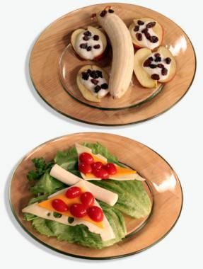 Fruit and Cheese Butterflies #kids #recipe