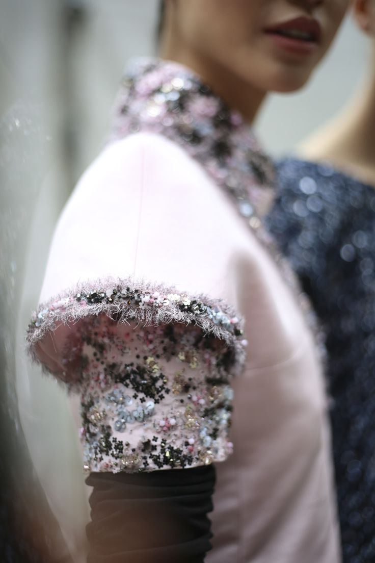 Chanel Fall 2016 Haute Couture #details