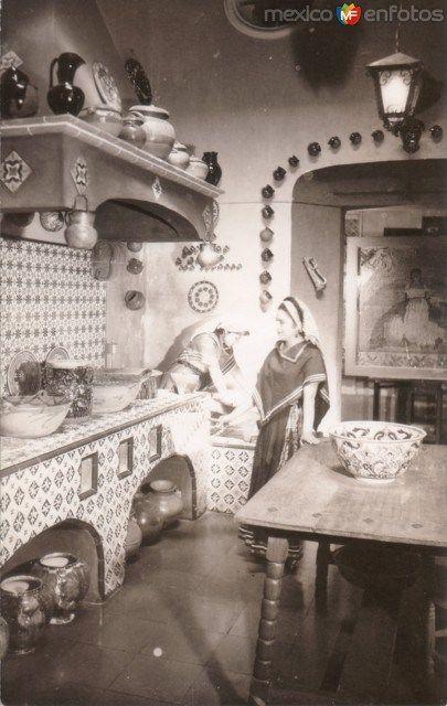 825 best mexicano images on pinterest mexican art - Fotos de cocinas antiguas ...
