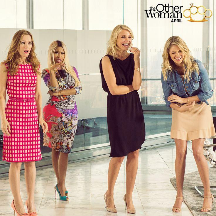 Cameron Diaz, Leslie Mann, Kate Upton, and Nicki Minaj team up in The Other Woman.