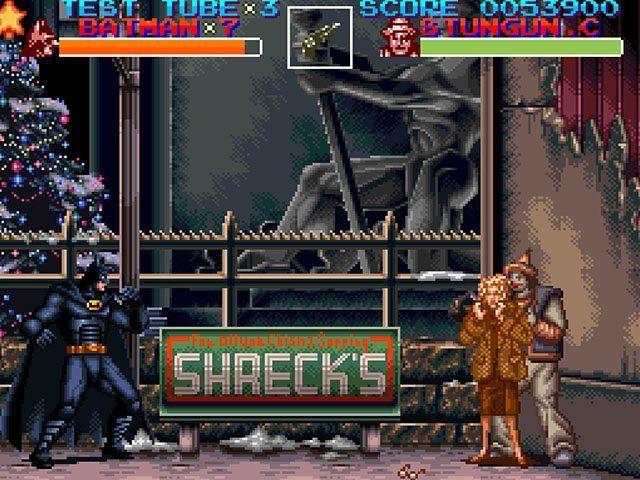 Batman Returns (1993) SNES Review | need | Batman returns