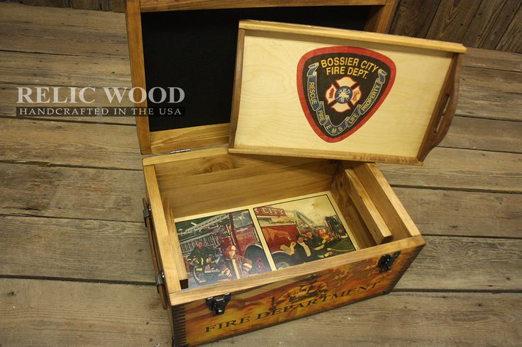 Testimonial by Samantha Smith –I ordered the Custom Fire Department Keepsake Box. It was a Christmas gift for my dad. He is a retired Firefighter. I was able to customize it with some of his most meaningful pictures from the time he was in the Fire Department. It was very special to give to him.