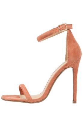 High Heel Sandaletten - cosmetic blush