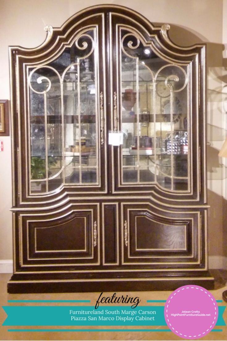 Marge Carson U2013 Piazza San Marco Display Cabinet. Right Now At The  Furnitureland South Outlet