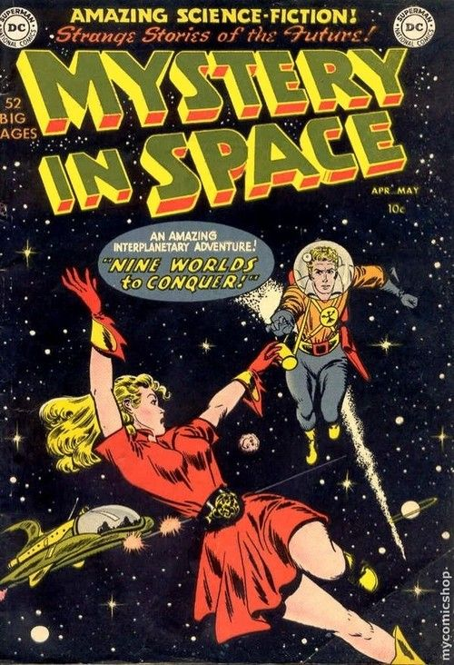 Vintage Comic Book Cover Art ~ Best images about vintage sci fi covers on pinterest
