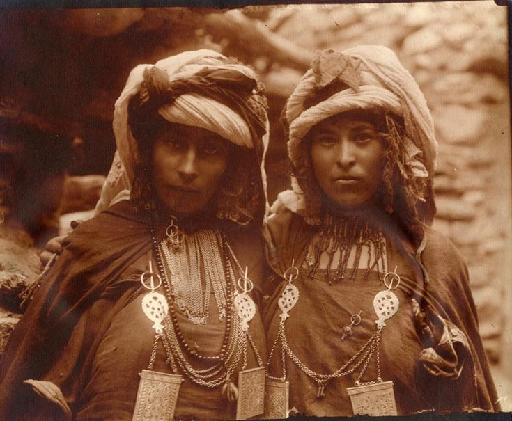 Algerian women from aures chaouia