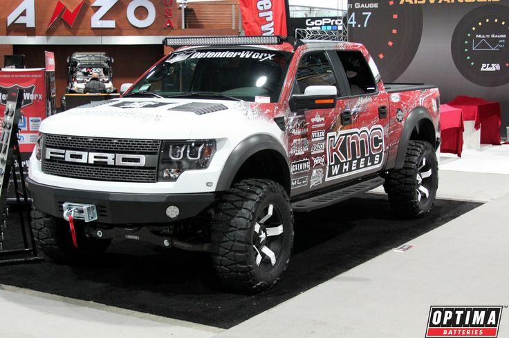 KMC Wheels Ford Raptor at #SEMA 2013