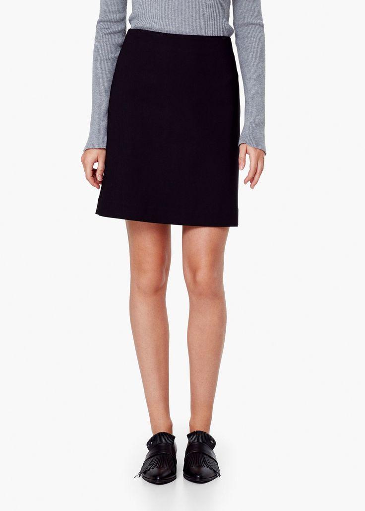 Cotton skirt - Skirts for Women | MANGO