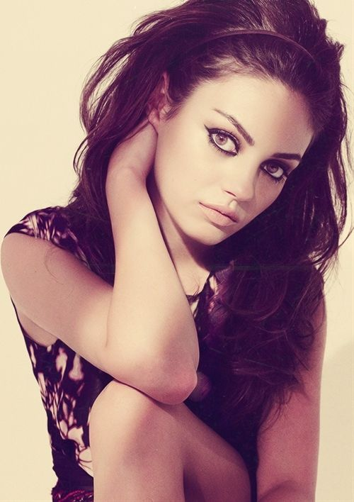 Mila Kunis - one of my celebrity lookalikes