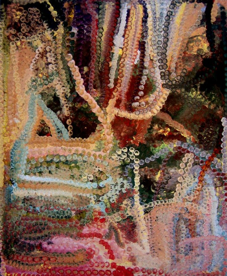 Emily Kngwarreye / Alatji Bush Tucker  1993  152 x 121.5cm