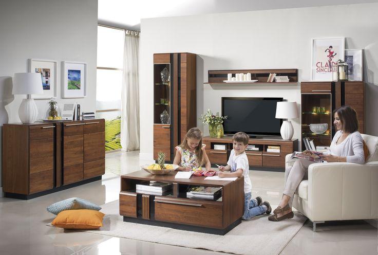 Tak może wyglądać salon marzeń :) Oto nasza kolekcja Porti #meble #salon #zainspirujsie #inspiracja #szynaka