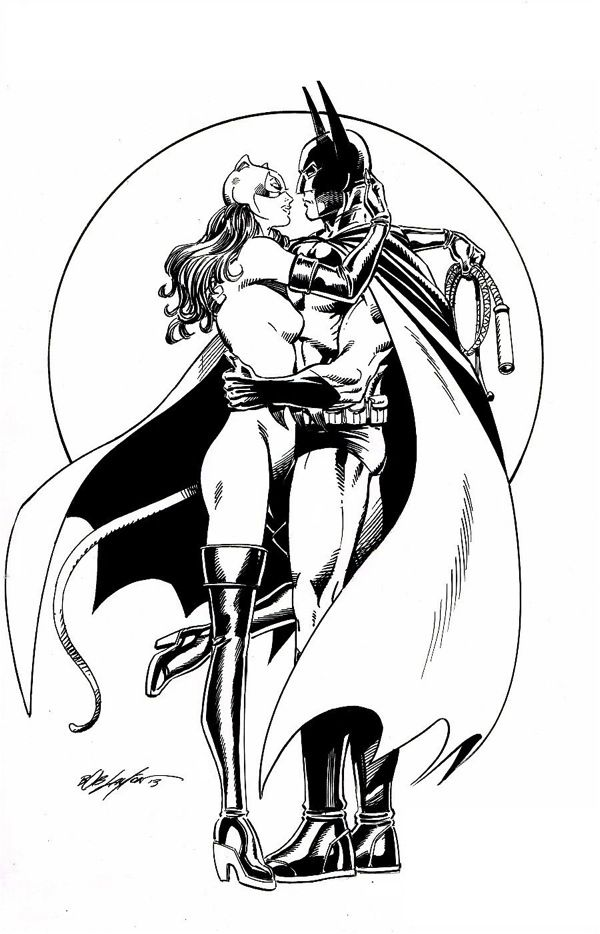 Pin by Christina B. on Coloring Pages | Catwoman comic ...