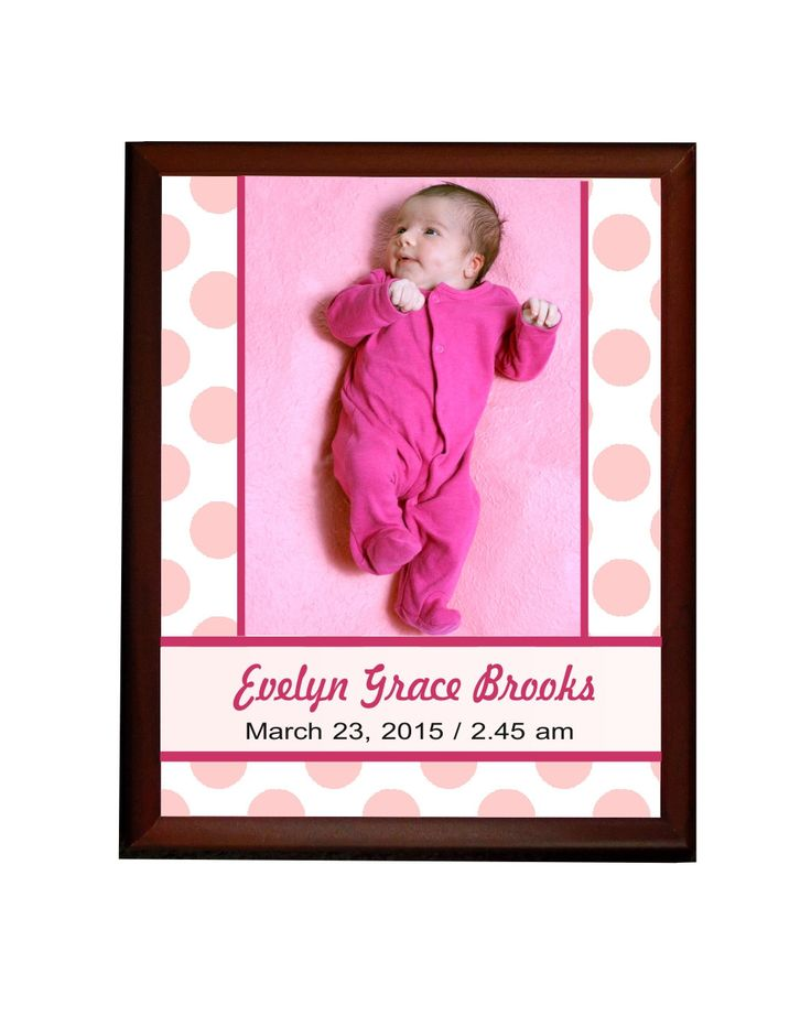 Personalized Baby Girl Wall Plaque, newborn gifts, new mom gifts, newborn keepsake, newborn girl by PHOTOgiftsKALUCAart on Etsy