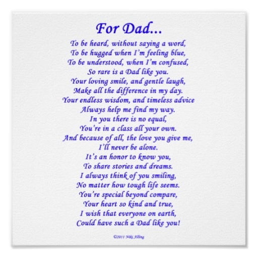 For dad poster missing dad heavens and memories for Quotes for a father