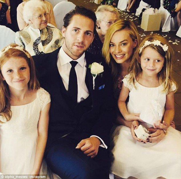 Margot Robbie with new husband Tom Ackerley Daily Mail Online 2016