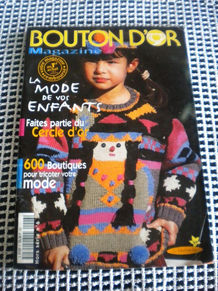 Catalogue Bouton D'OR Spécial Enfant : Matériel Tricot par l-atelier-de-nanie-tricot