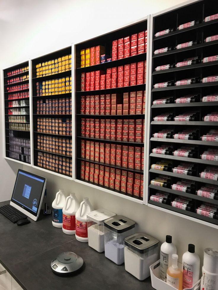 #1 Hair-Salon Color Storage, #1 Hair-Salon Color R…