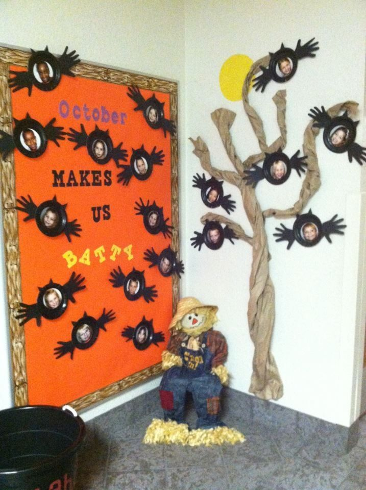 October bulletin board